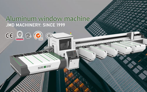 What is aluminum window machine