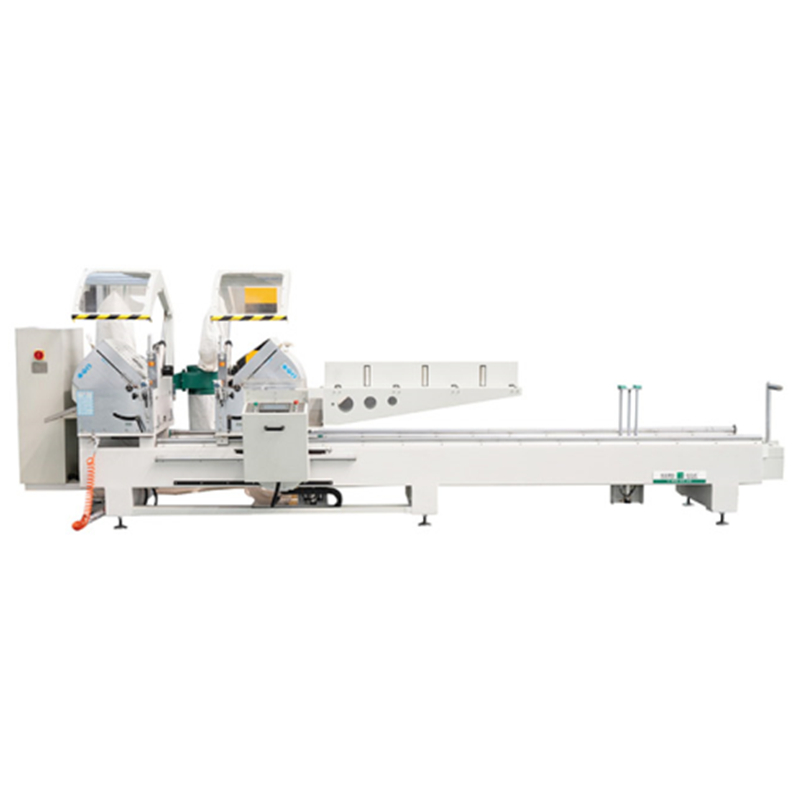 CNC Double-head Miter Precision Cutting Saw for Aluminum and PVC Profile