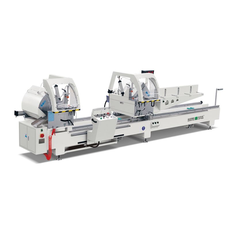 Digital Display Double-head Miter Precsion Cutting Saw for Aluminum and PVC Profile