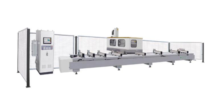 Centro de processamento duplo CNC de alta velocidade
