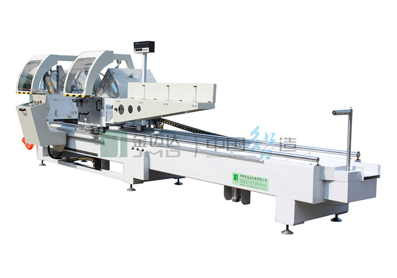 Digital Display Double-head Miter Precision Cutting Saw for Aluminum and PVC Profile