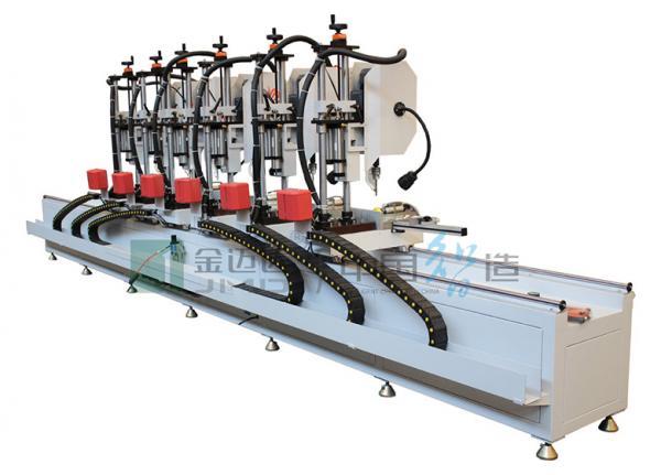Aluminum Curtain Wall Multi Head Drilling Machine