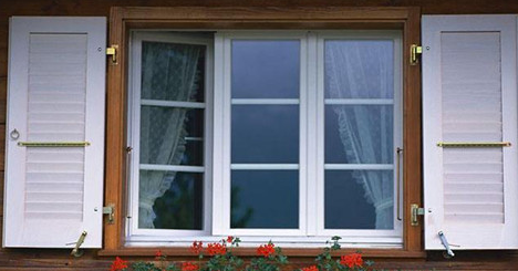 Why is aluminum used in window frames?